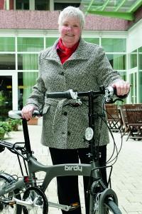 Ob mit Bus, Bahn oder Auto: Ein Faltrad l‰sst sich leicht zum Startort der Radtour transportieren.