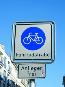 Fahrradstra+ƒen