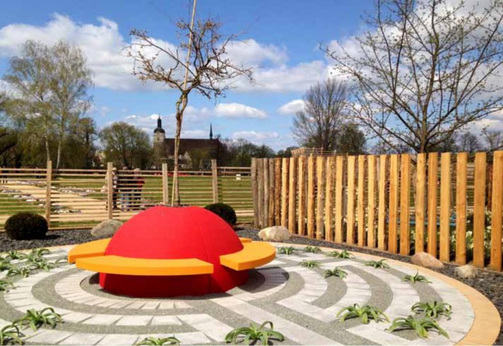 Durch 33 Themengärten kann am Buga-Standort »Packhof« in Brandenburg an der Havel flaniert werden.