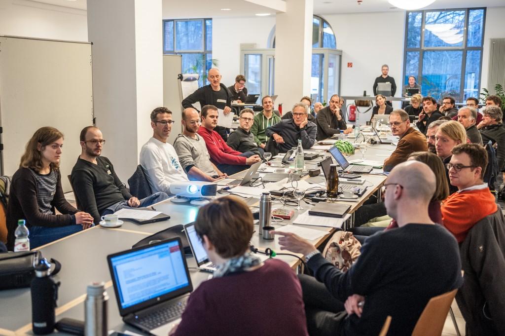 Volksentscheid Fahrrad, 'Gesetzes-Hackathon', 16/17. Januar 2016