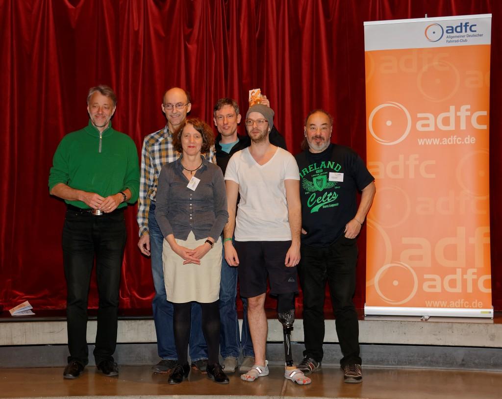 Der neue Vorstand (v.l.n.r.): Frank Masurat, Andreas Lindner, Eva-Maria Scheel, Florian Noto, Evan Vosberg, Norbert Kesten