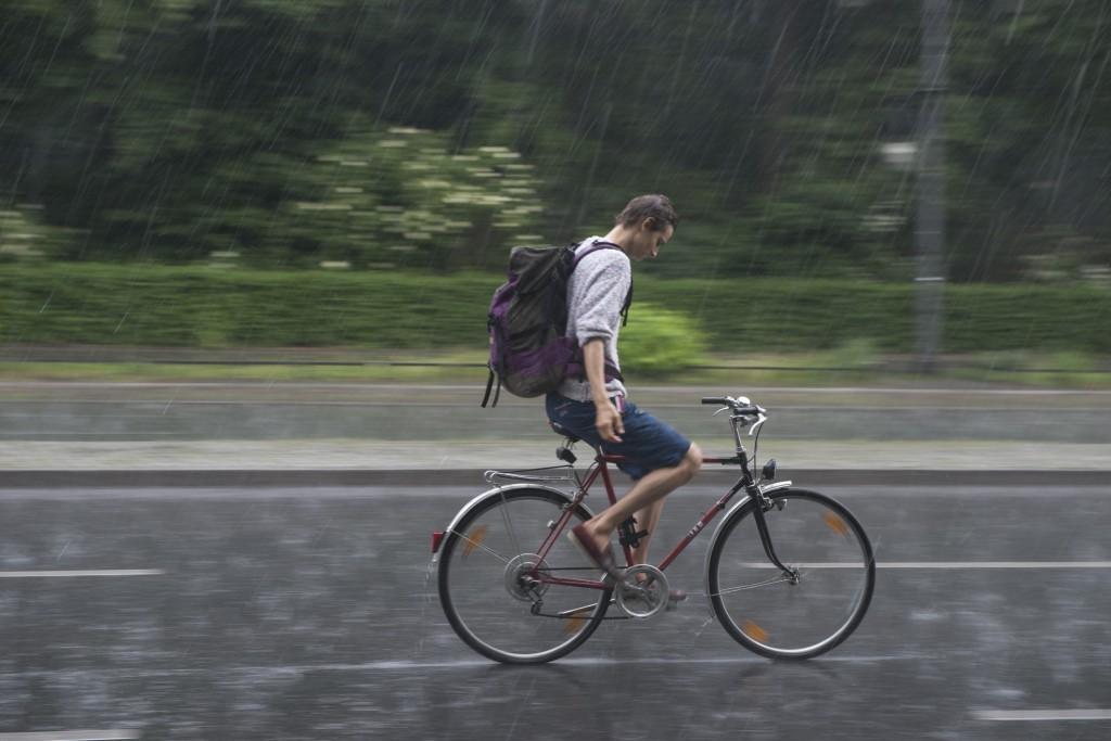 Heimweg im Regen