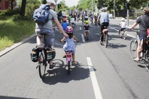 Starthilfe auf der Kinderroute Foto: Jonathan Goepfert