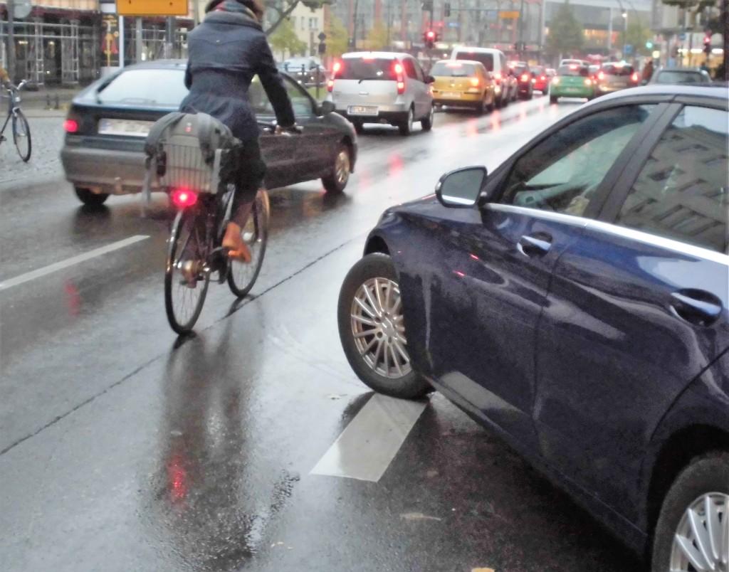 In der Hauptstraße in Schöneberg kam es schon zu schweren Unfällen. Foto:@poliauwei