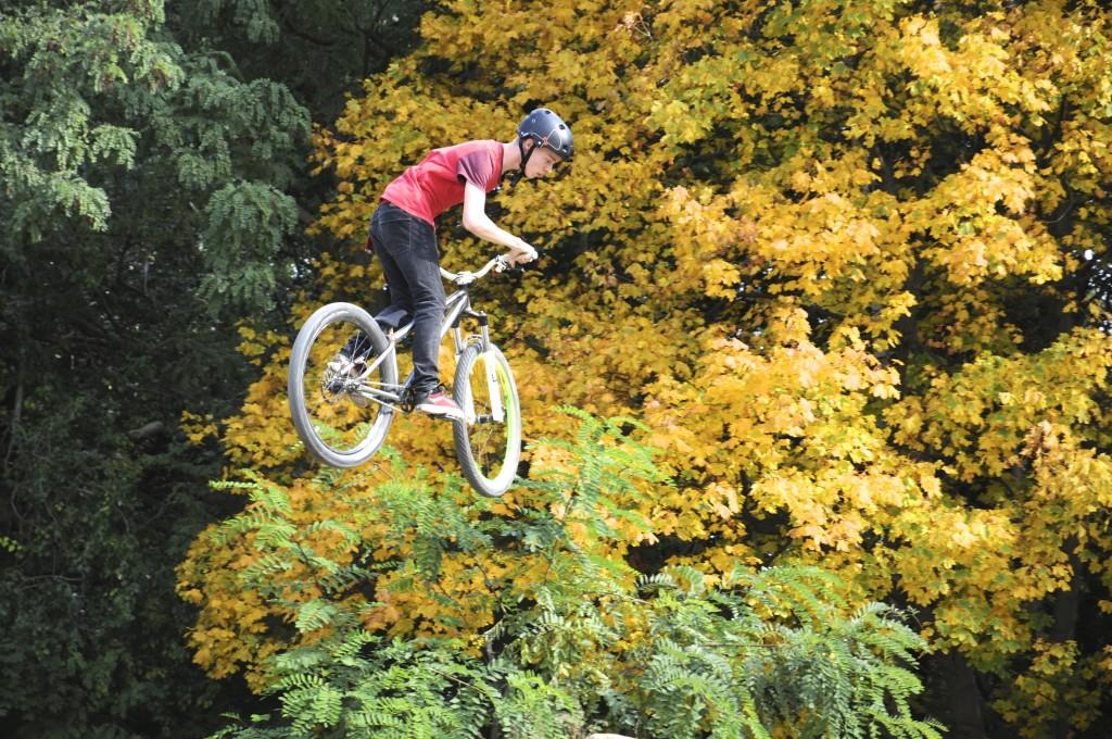 Hier springt es sich gut: Der Mellowpark an der Wuhlheide hat Berlin den Ruf als BMX-Hauptstadt Europas eingebracht.