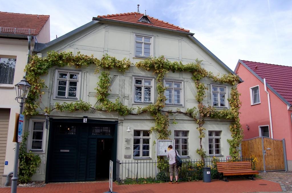 Das Mittenwalder Stadtmuseum verfügt über einen kleinen Weinlehrgarten.