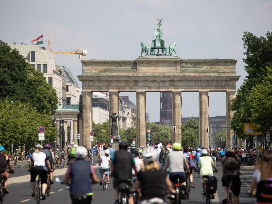 Fahrraddemonstration ADFC-Sternfahrt